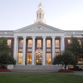Harvard Business School ranks #1