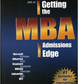 Getting The MBA Admissions Edge